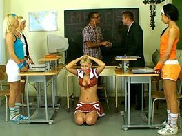 School class orgy