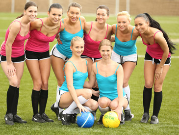 World cup kick off