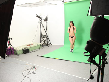 Casting shoot of Mila