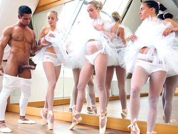 Pleasing the ballet teacher